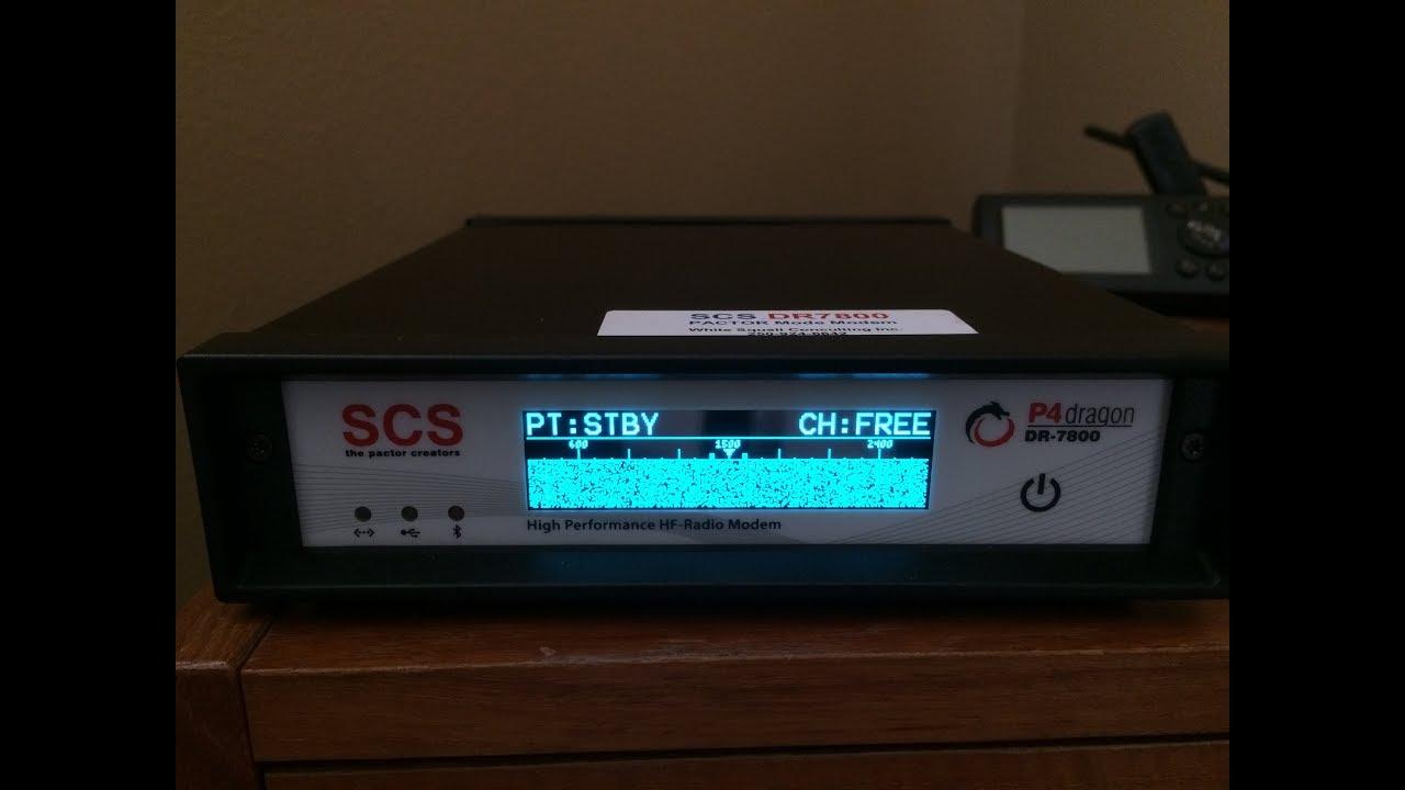 Unboxing of the SCS DR-7800 HF Radio Modem