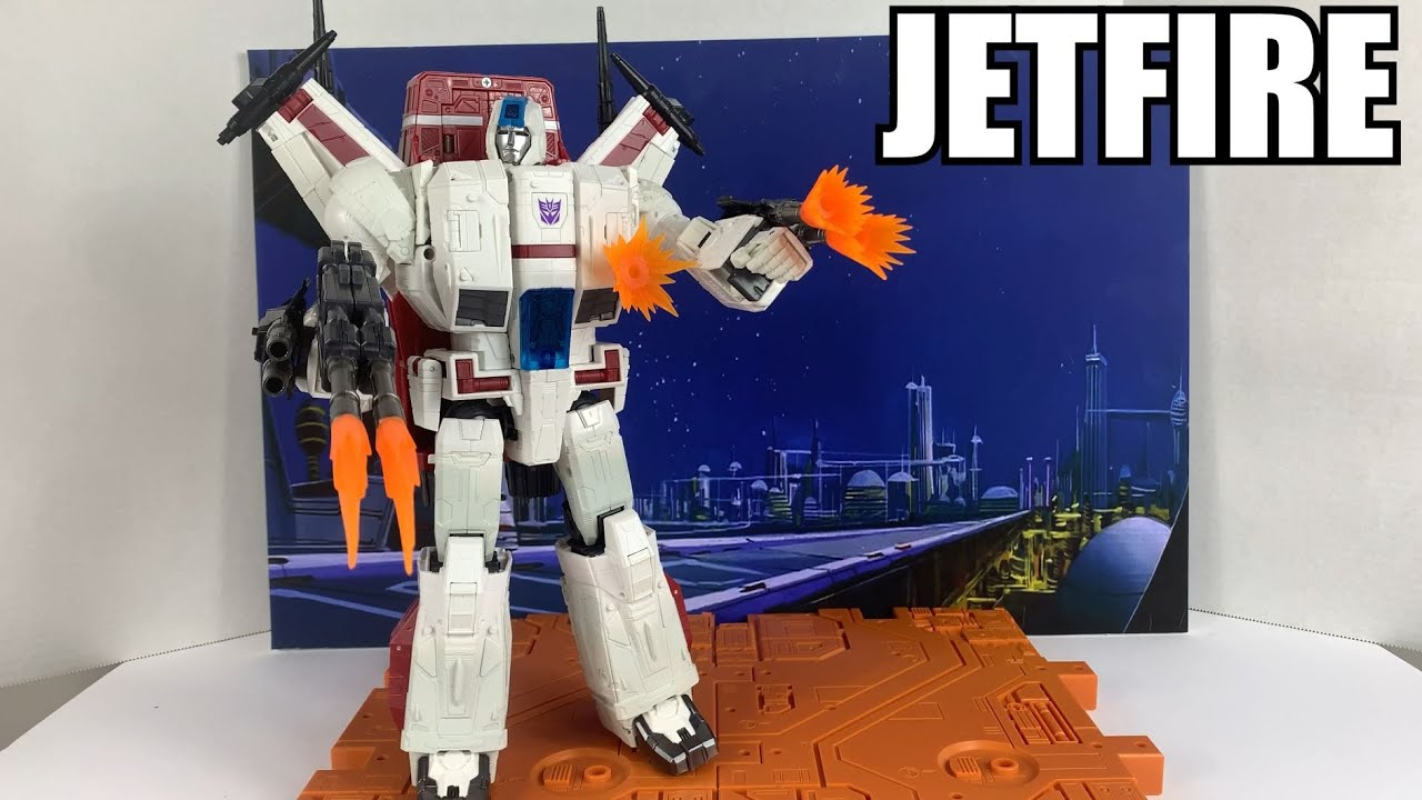 Siege War for Cybertron Jetfire Unboxing and Review By Enewtabie