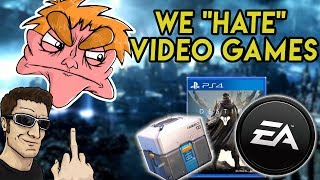 "We ""HATE"" Video Games 