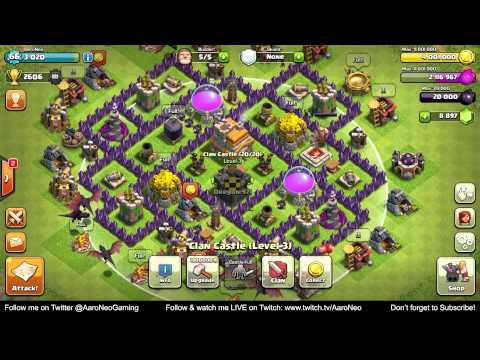 Town Hall Level 7 (TH7) Base MAXED OUT Completely Upgrade Strategy for Clash of Clans