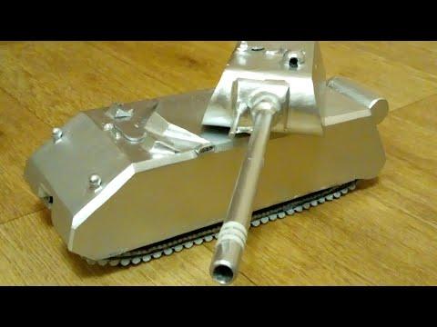Делаем танк из металла