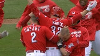 4/10/16: Bruce hits triple for walk-off win