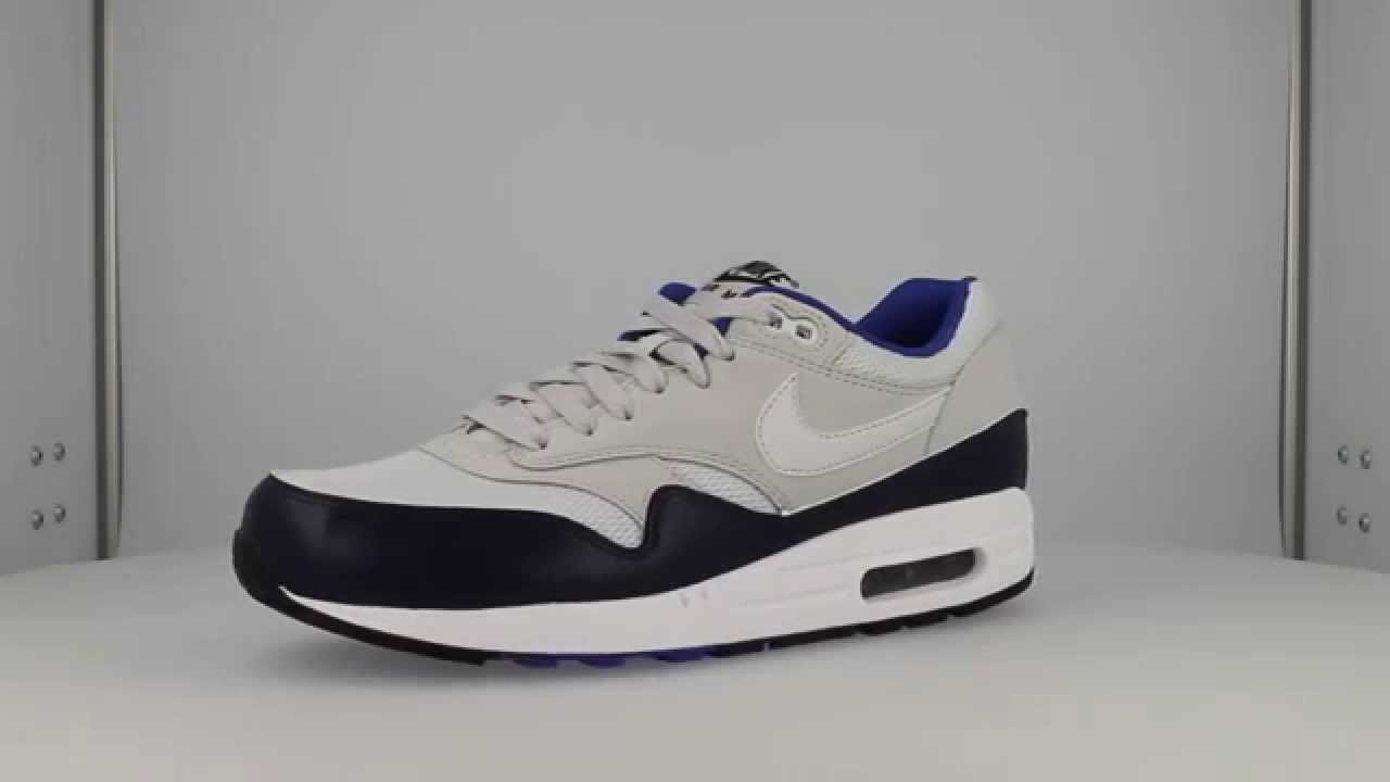 6f47c42a57 Buy Nike Air Max 1 Essential pure platinum/midnight navy from £53.99 ...