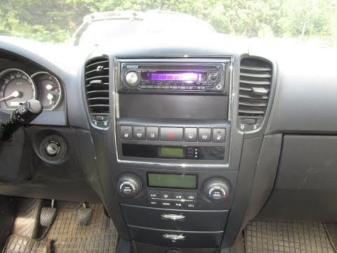 How to install a Car Radio to Kia Sorento 2006-2009