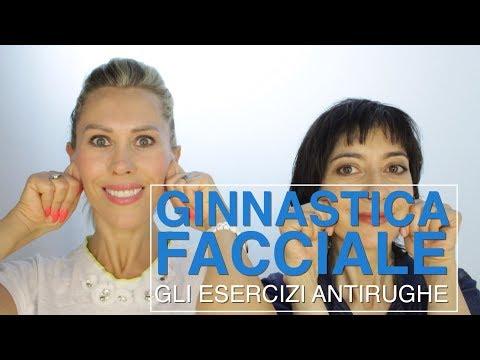 GINNASTICA FACCIALE gli esercizi antirughe per un viso più liftato