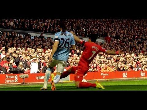 Luis Suarez vs Manchester City (Home) HD 720p (13/04/2014)