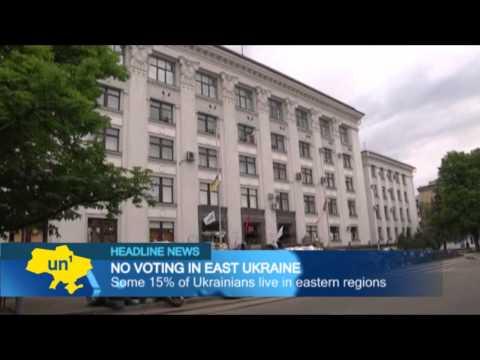 Donbass Voters Denied Democracy: Pro-Russia insurgents close down East Ukraine polling stations