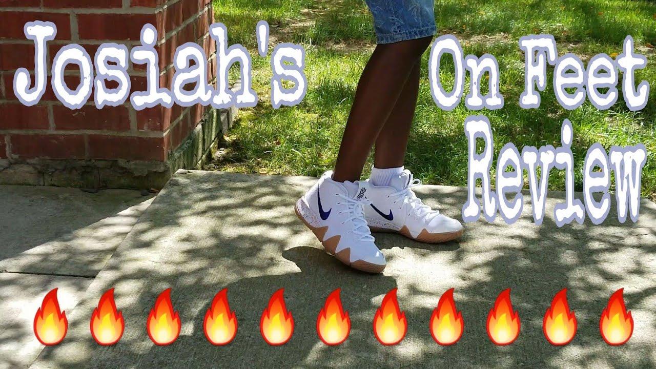 promo code c6362 6df54 Nike Kyrie 4 Uncle Drew On Feet by Josiah 🔥👟🌟