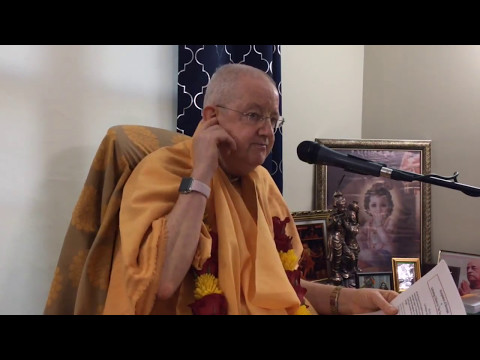 Romapada Swami: Part 1 - How to address difficulties - strengthen shelter taking
