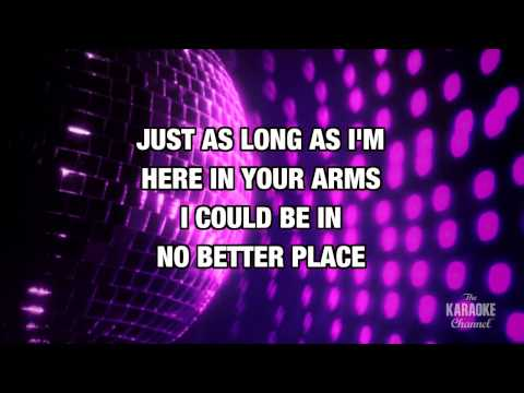 The Best in the style of Tina Turner | Karaoke with Lyrics