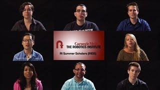 Robotics Institute Summer Scholars (2013)