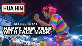 Fun despite face mask Hua Hin Thailand