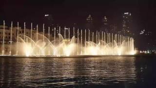 Dancing Fountain, Burj Khalifa-Dubai / Michael Jackson - Thriller