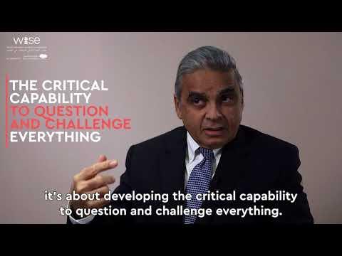 Lighting the fire of critical thinking – Kishore Mahbubani