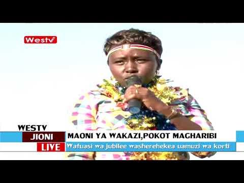 Wafuasi wa Jubilee na Kanu washerehekea ushindi wa Uhuru Pokot