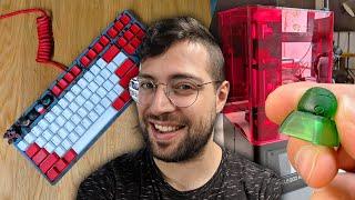 ¡Tuneando teclados mecánicos con impresora 3D! | Elegoo Mars - Modding de teclados