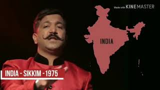 How our india divided into 29 states from 565 princely states after independence by Shifuji