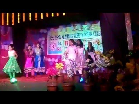 vallege girls programs  dance from indpur koira sundargarh odisha