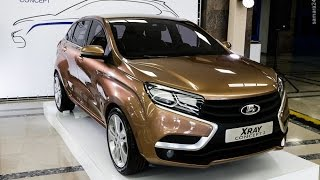 Стартовали продажи первого российского кроссовера  Lada XRay