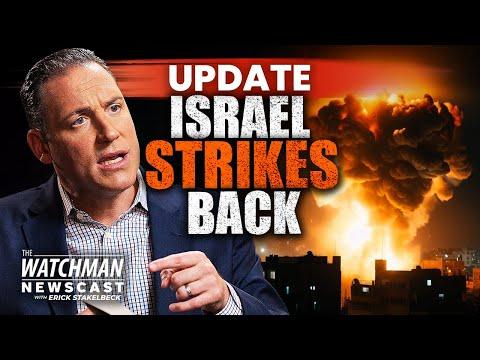 MASSIVE Rocket Barrage Launched from Gaza; Israel Eliminates Terror Commanders | Watchman Newscast