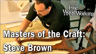 Masters of the Craft - Steve Brown Takes the Measure of a Chair