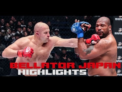 Bellator 237 Highlights: Fedor KO Puts Rampage Face First On The Canvas