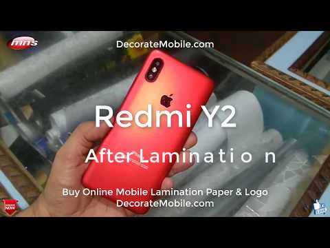 Xiaomi Redmi Y2redmi note 5 Pro convert to iPhone by Mns Computer