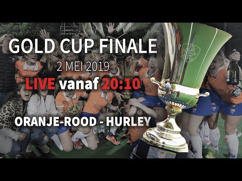 LIVE! Finale Gold Cup 2019 (D) Oranje-Rood - Hurley