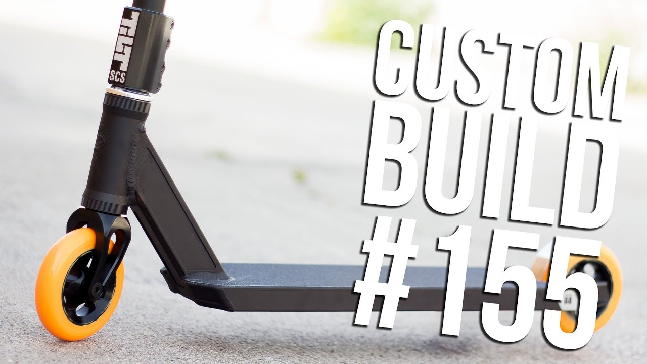 Custom Build 155 Ft Jack Dauth The Vault Pro Scooters Youtube