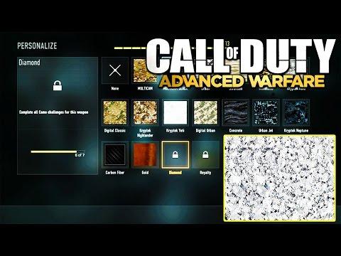 Advanced Warfare - Diamond Camo Unlock Glitch? Problem Solved Inside XBOX ONE (COD AW TIPS)   Chaos