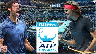 LONDON NITTO ATP FINALS 2018 | DJOKOVIC VS ZVEREV [AO TENNIS]