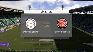FIFA 21 Caykur Rizespor vs Karagumruk SK Turkey Super Lig 03 04 2021 1080p 60FPS
