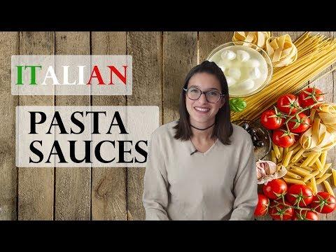 🍝 Typical ITALIAN PASTA Sauces!