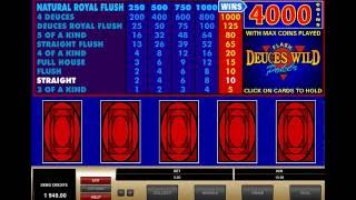 DEUCES WILD POKER online free casino SLOTSCOCKTAIL microgaming