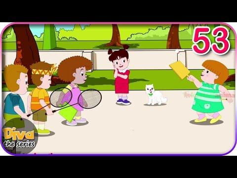 Seri Diva | Eps 53 Bermain Badminton | Diva The Series Official