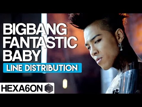 BIGBANG - Fantastic Baby Line Distribution (10 Year Anniversary Project)  PART 07/10