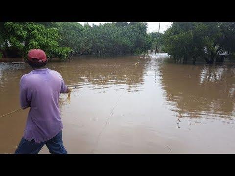 Encuentran con vida a dos personas arrastradas por las corrientes en Rivas