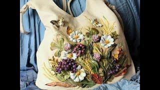 Потрясающие авторские кожаные сумки своими руками от Дианы Светличной(Потрясающие авторские кожаные сумки своими руками от от Дианы Светличной. Каждая такая авторская сумка..., 2015-02-08T10:40:24.000Z)