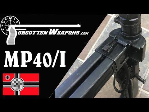 MP-40/I: The Dual-Magazine Experimental MP-40