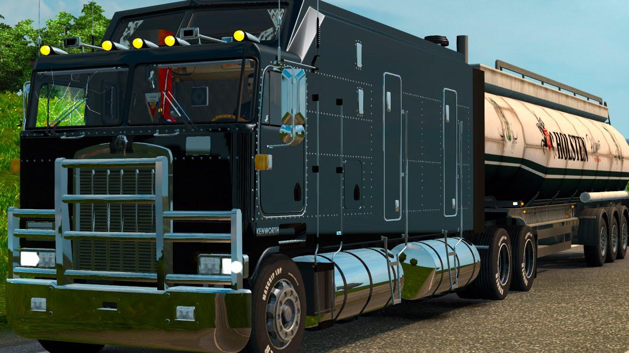 Euro Truck Simulator 2 - Mapa Russia : Kenworth K100 cabine GIGANTE ...