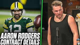 Pat McAfee Reacts: Aaron Rodgers New Contract Details Released