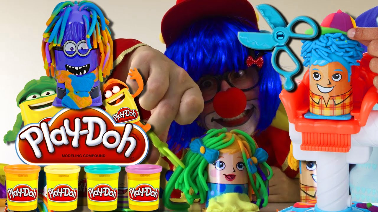 Play Doh Crazy Cuts Play Doh Hair Cut Set 2016 New Youtube