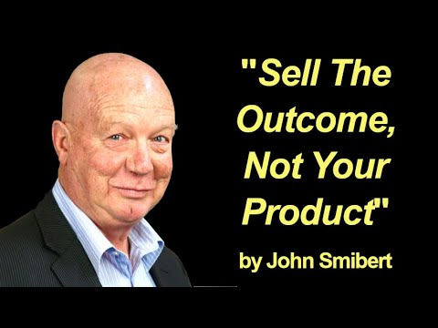Sell the outcome   not the product