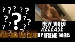IRENE ROBERTS showing KENNEKA JENKINS in RELEASE  VIDEO