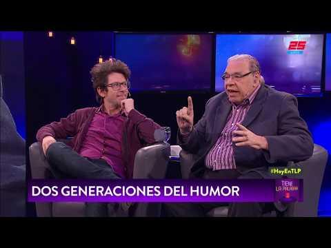 Enrique Pinti y Peto Menahem en TIENE LA PALABRA