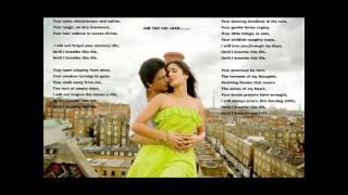Gambar cover Jab Tak Hai Jaan Title Song 2012 -  Shahrukh Khan, Katrina Kaif and Anushka Sharma