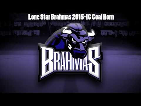 Lone Star Brahmas 2015-16 Goal Horn