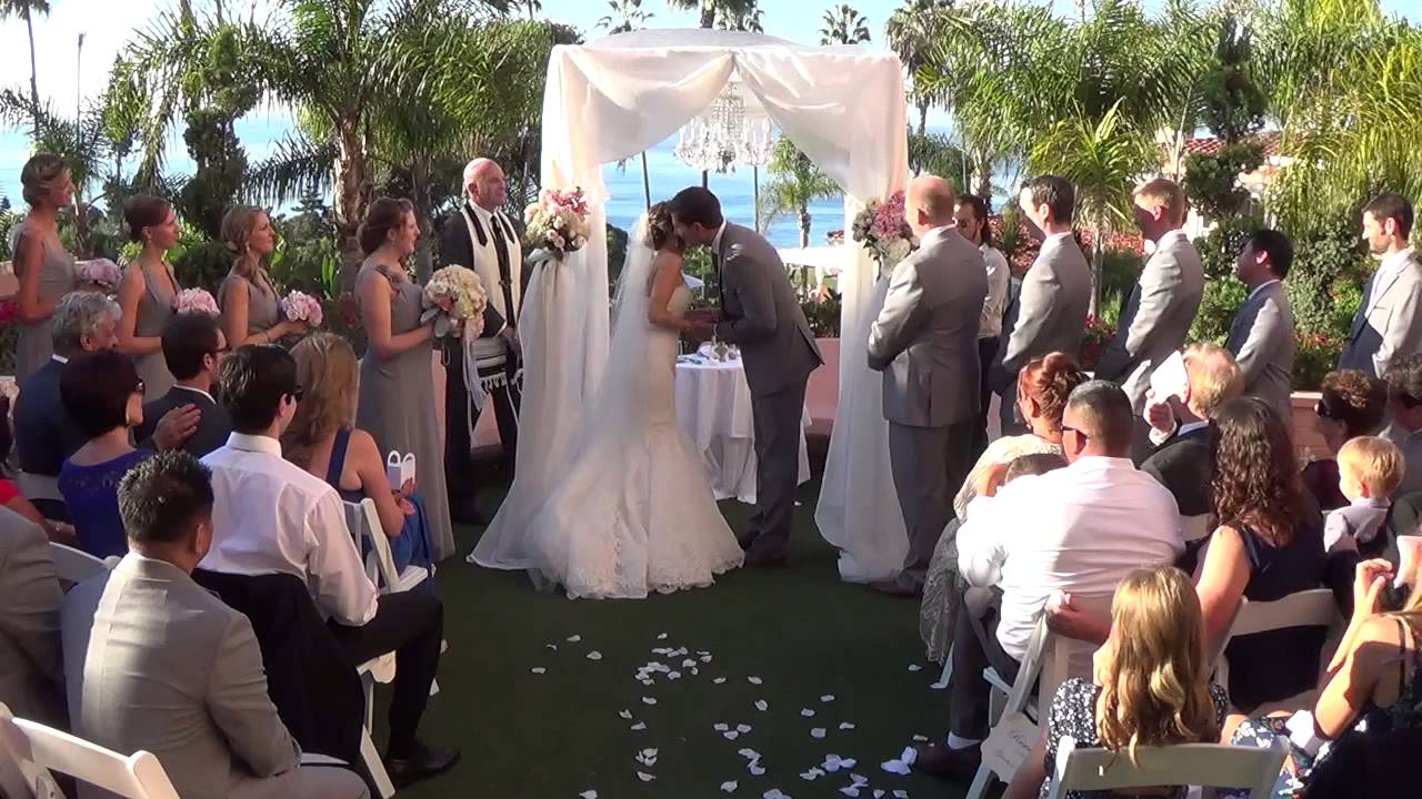 La Valencia Hotel Wedding Ceremony Reception Highlight Trailer Cheap Videography San Diego