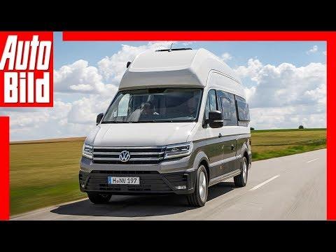 VW Grand California (2019): Test - Infos - Preis - Reisemobil - Caravan
