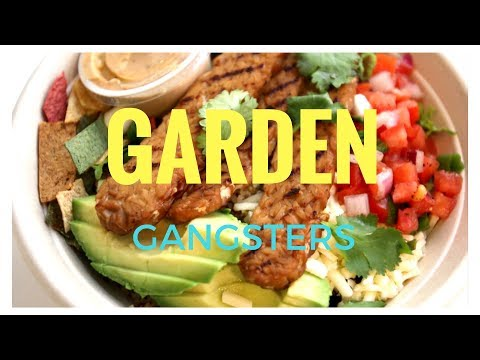 Eat like a Healthy Gangster in Toronto at Garden Gangsters